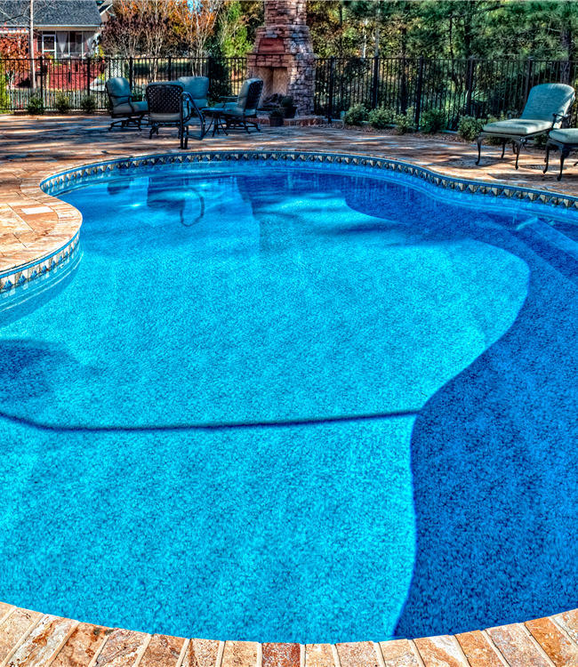 Beautiful Pool Deck
