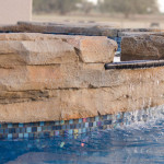 Overflowing spa into the pool, Bobco Pools in Osceola County