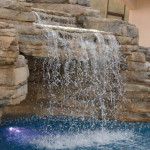 Awesome Cascading Waterfalls with Underwater Lighting -- Water features in Lakeland